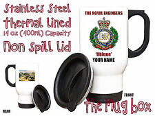 Royal Engineers Personalised Thermal Travel Mug.(MT018)