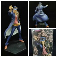 JoJo's Bizarre Adventure Kujo Jotaro Pvc Action Figure Model Toy Anime Gift