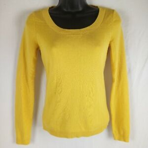 Ann Taylor LOFT Sweater Size XS Golden Yellow Top