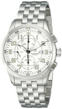 Swiss Army Airboss Mechanical Automatic Chronograph Steel Mens Watch Date 241621