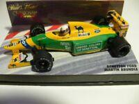 1/43 Minichamps Benetton Ford Martin Brundle Formel 1
