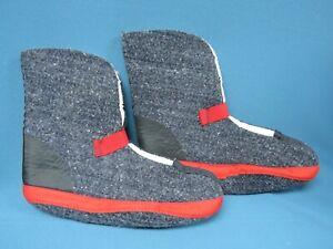 Sorel Kaufman Felt Winter Snow Boot Liners Mens sz 10 NEW