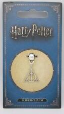 New Official Genuine Harry Potter Silver Plated Deathly Hallows Slider Charm