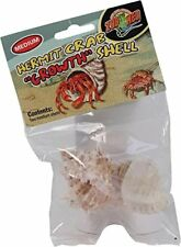 Zoo Med Hermit Crab Growth Shell, Medium, 2-Pack
