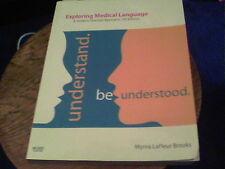 Exploring Medical Language by Myrna LaFleur Brooks al