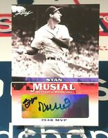 Stan Musial 2015 Leaf Heroes of Baseball Musial Autograph #MASM6 Cardinals MLB