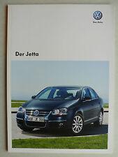 Prospekt Volkswagen VW Jetta, 11.2009, 52 Seiten