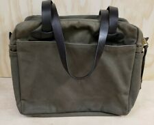 Filson Tote Bag With Zipper 70261 Otter Green