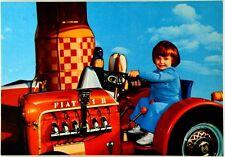 Cartolina Trattore Fiat Non Viaggiata