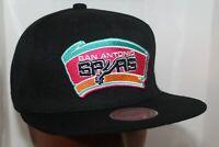 San Antonio Spurs Mitchell & Ness NBA Team Logo Snapback,Hat,Cap     $ 35.00 NEW