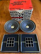 MIB unused Craig Powerplay 9420 speakers w/ original box, one owner