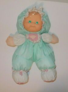 Vintage Fisher Price Puffalump Kids Green Sherri 1990 Stuffed Baby Doll