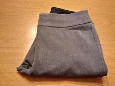 Women's Ann Taylor LOFT Size 6 S Small Gray Julie Bootcut Casual Pants Inseam 31