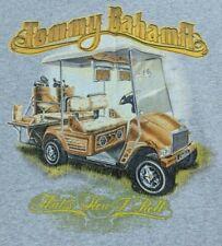 8659f89e1d25 TOMMY BAHAMA t shirt--THAT S HOW I ROLL classy golf cart