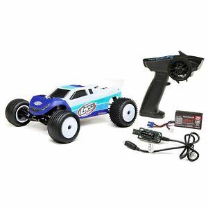 Losi Mini-T MiniT 2.0 1/18th Scale RC Remote Control RTR Ready to Run : BLUE