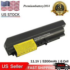 """Battery for Lenovo ThinkPad T61 R61 T400 R400 T61P 14.1"""" widescreen Power Supply"""