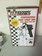Speedway Series Proffesional Paint Spray Gun with one Quart Paint cup