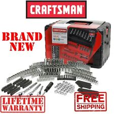*New* CRAFTSMAN 320pc Piece Mechanics TOOL SET w 3 Drawer Case SAE Metric Silver
