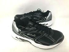 NEW! Fila Men's Cool Max Memory Foam Athletic Shoes Blk Size:8 #21061-010 f11b a