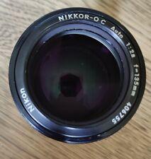 Nikon Nikkor-Q 135mm f2.8 AI Converted Telephoto Lens