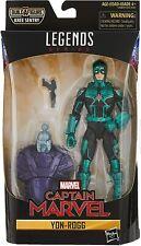 "Marvel Legends Hasbro Avengers Kree Sentry BAF Series YON-ROGG 6"" Figure NIB"