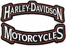 HARLEY DAVIDSON ROCKERS Back PATCH Motorcycle Biker Jacket Vest IRON ON 12""