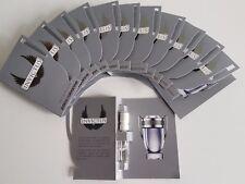 PACO RABANNE INVICTUS 12 Pcs. Eau De Toilette.SPRAY VIALS FOR MEN 0.05fl./1.5ml
