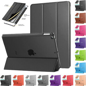"""Smart Magnetic Leather Stand Case Cover For iPad 2/3/4 9.7"""" 2018 Air 2 Mini Lot"""