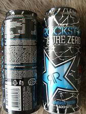 ☸ڿڰۣ-* ☸Rockstar Energy>1 full Can,Pure Zero Fruit Punch 500ml☸ڿڰۣ-* ☸