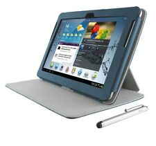 TRUST 19173 ELIGA FOLIO STAND WITH STYLUS FOR GALAXY TAB 2 10.1 - AZUL