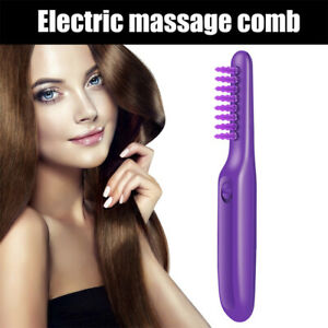 Wet & Dry Tame Mane Electric Detangling Brush Comb Automatic Solve Tangled Hair/