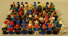 (I2) Lego 10 Figurines avec Couvre-Chef Convoluté Différentes Variantes