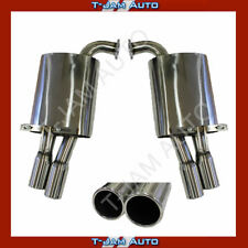 Commodore Exhaust Holden VE-VF 3 Inch Tip Twin Muffler New