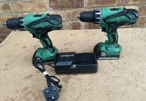 HITACHI DV18DGL / DS18DGL Li-ion Cordless Hammer Drill / Driver 18v - Set