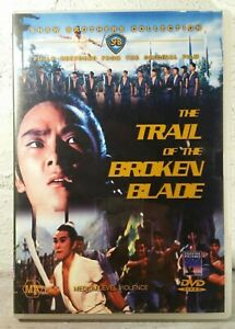 THE TRAIL OF THE BROKEN BLADE DVD MARTIAL ARTS RESTORED 1967 SHAW BROTHERS RARE