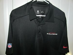 Atlanta Falcons Team polo shirt - Nike Dri Fit Adult Large