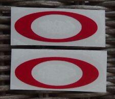 Visera de casco Calcomanía Adhesivo Rojo-Oakley Para Casco Visera-Alborada 'Dei Chihuahua