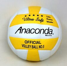 Anaconda F.I.V.B. MG-3175 Ultra Soft Offical Volleyball Gold And White Leather