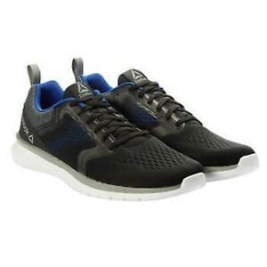 NIB Reebok PT Prime Run 3.0 Men's Running Shoes Black/Cobalt Blue Free Shipping