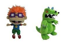 Nicktoons Rugrats two plush set: Chuckie & Reptar, NEW by Jazwares