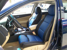 IGGEE S.LEATHER CUSTOM FIT SEAT COVER FOR 2000-2003 NISSAN MAXIMA