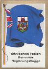 DRAPEAU British Empire britannique Bermuda Government gouvernement FLAG CARD 30s