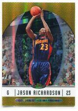 2006-07 Finest Gold Refractor 34 Jason Richardson 15/50
