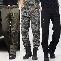 Army Tactical Combat Camouflage Trousers Outdoor Pants Military Camo Pants R107