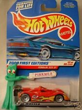 2000 #11 FE Hot Wheels Red FERRARI 333 SP #71 var angle ☆First Editions