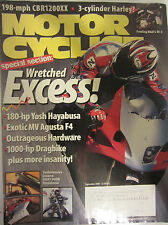 Motorcyclist Magazine September 2000 Wretched Excess! Special Section MV Agusta