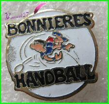 Pin's Sport Ville de BONNIERES Le HANDBALL   #F3