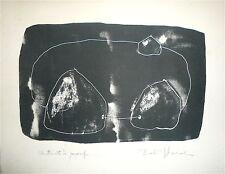 HORAK BOHUSLAV lithographie signée numérotée art abstrait abstrait USA CZECH