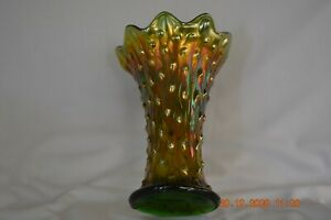 Northwood Tree Trunk vase-------Green