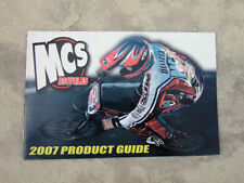 Collectable Mcs Freestyle & Bmx bicycle, 2007 product catalog, with team picture